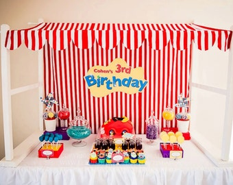 Mix and Match Collection for a Wiggles Birthday Party / Wiggles Party / Choose any 4 of the 10 items