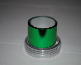 Sale! 3 meters Emerald green Metallized foil film coating for nails