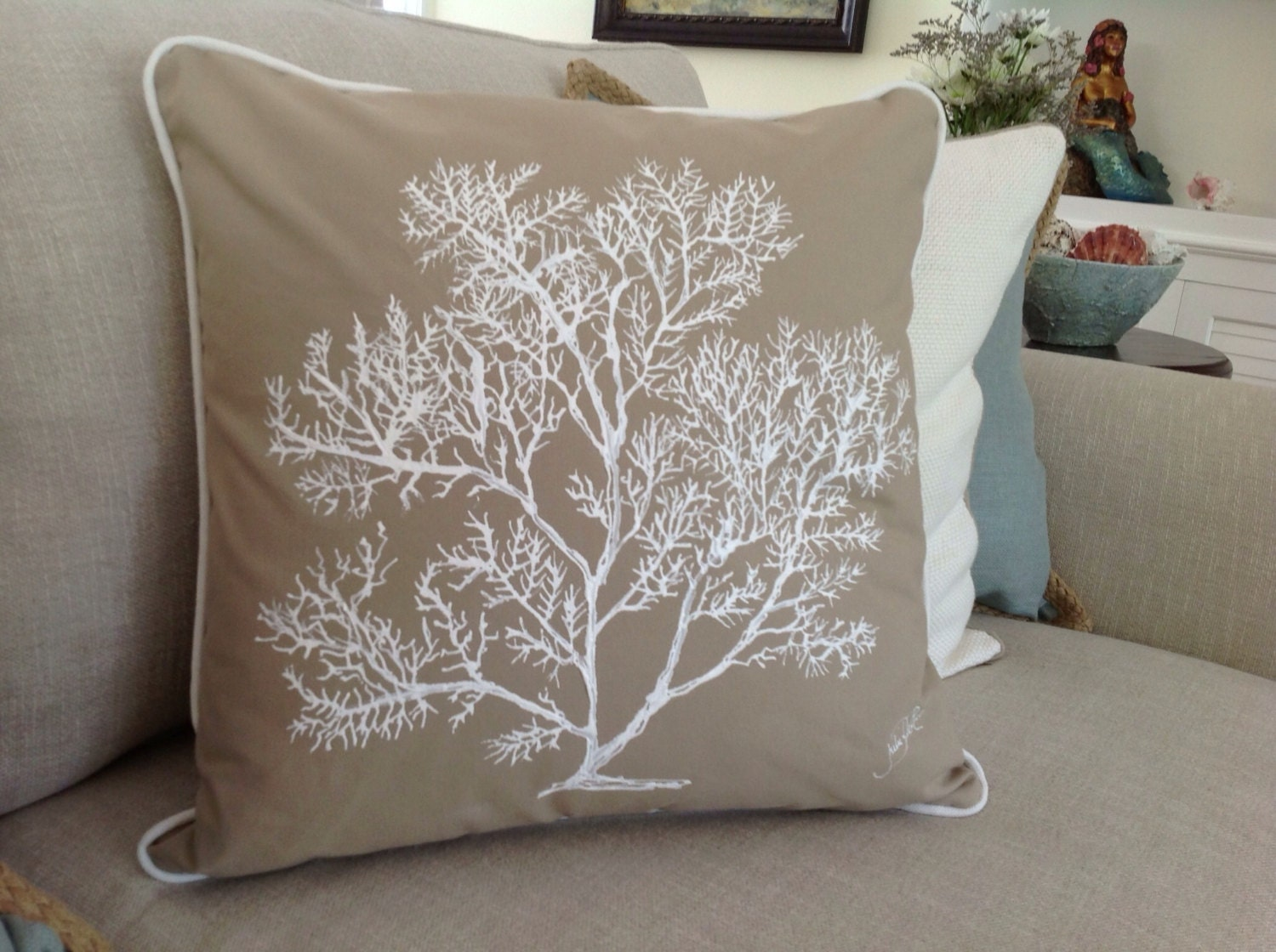 hand painted pillows each pillow useable artwork for your