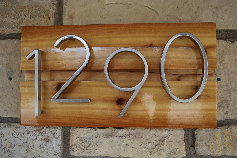 custom address sign by daddyssimplesigns on etsy