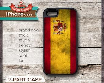 Spain Spanish Flag - iPhone 6, 6+, 5 5S, 5C, 4 4S, Samsung Galaxy S3, S4