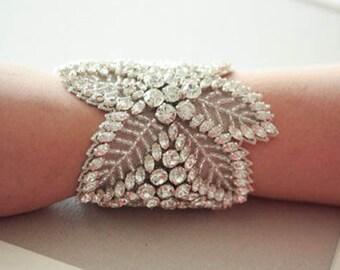 Wedding Statement bracelet - Noah (Made to Order)