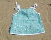 SEAGULL - aqua - green - white - beach - summer - dress