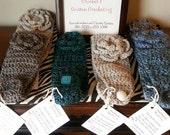 Crocheted Headbands, Earwarmers, Headwraps