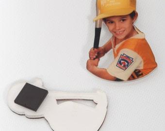 Acrylic photo magnet