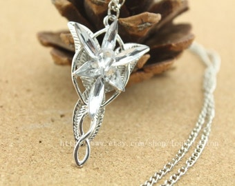 Aragorn Arwen Evenstar Necklace Lotr Lord Of The Rings