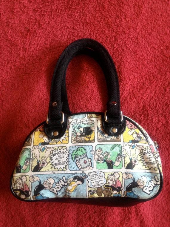 Comic strip purse