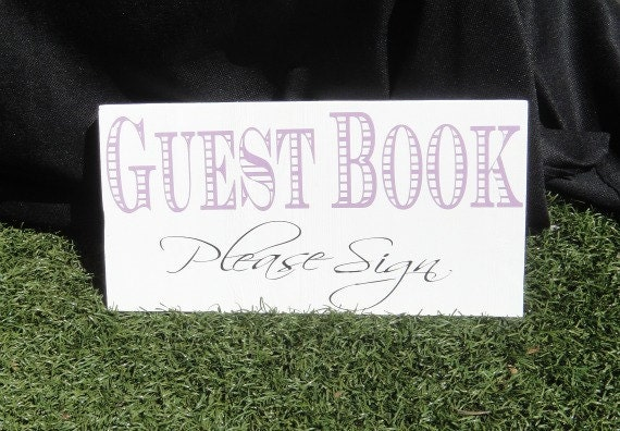 wedding guest book sign guest book please sign wedding signage