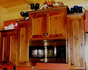 BARNWOOD KITCHEN CABINETS - Custom Cabinets