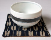 Japanese Indigo Cotton Coaster Set of 4