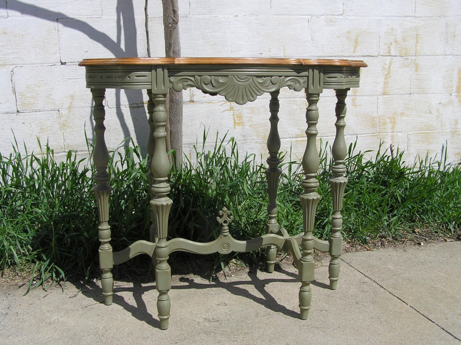 French Country Six Legged Occasional Table