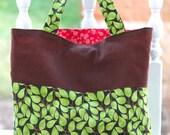 Go green reversible tote bag,cotton tote bag