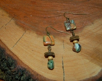 Red Creek Jasper Earrings Set