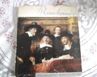 Rembrandt    spring art book