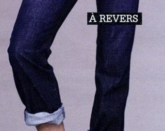 JEANS A REVERS