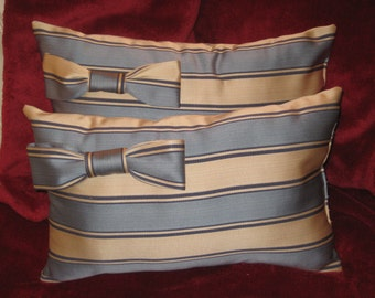 Two Big Bow Decorative Pillows (Free Shipping)