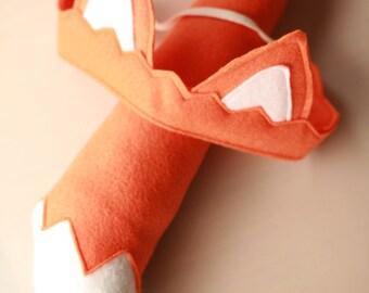 Fox Animal Costume - Child's or Adult's Orange Fox Tail & Ears