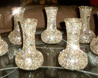 BLINGTASTIC Diamond Dust Glittered Vases