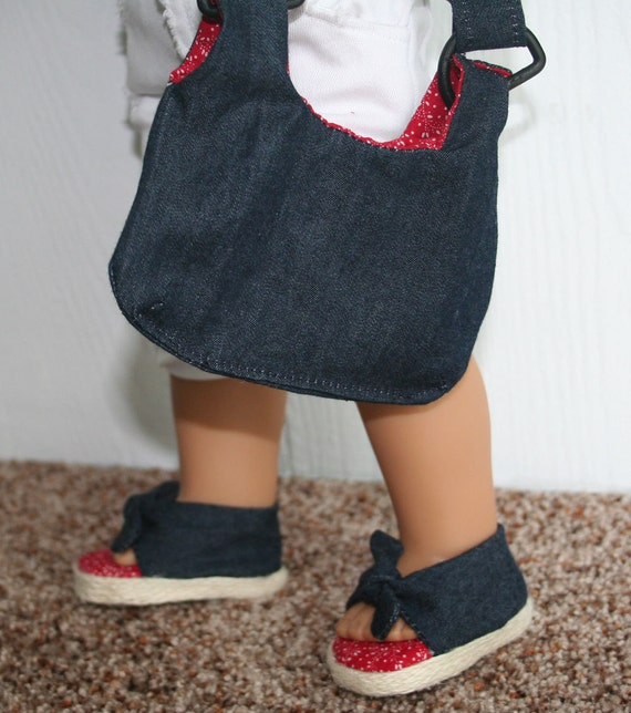 Darling Denim Shoes and Bag