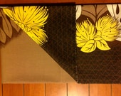 Brown with Yellow/Brown Accents Lavalava