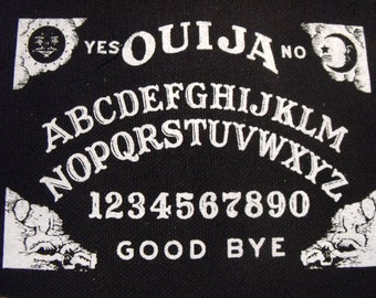 OUIJA BOARD patch satan devil witch horror punk rock Free Shipping