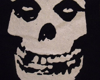 THE MISFITS skull patch punk rock horror Free Shipping