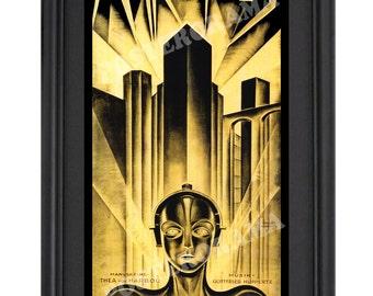Metropolis POSTER 10 x 20 large Science Fiction print by Fritz Lang