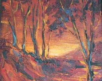Mid Century Lenore Beran painting