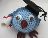 Graduation Bird Character Made To Order