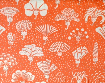 Vintage Sheet Fat Quarter - Coral Floral