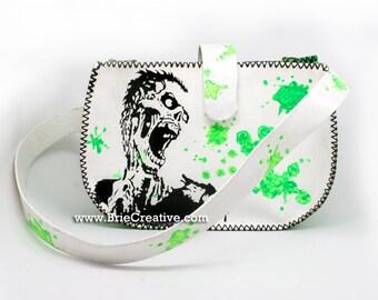 Leather Zombie Purse