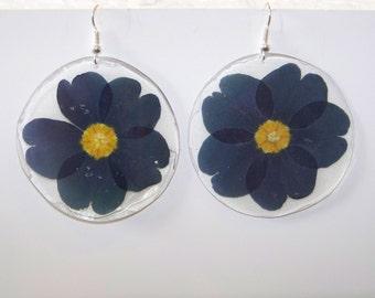 Purple Primrose Earrings