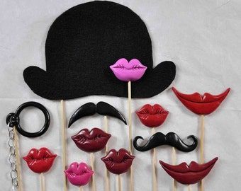 12 photobooth accessories for unforgettable photo.