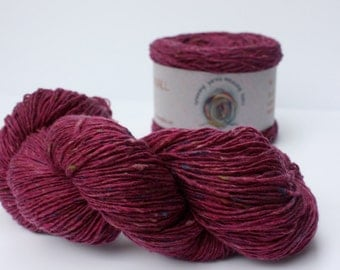 Spinning Yarns Weaving Tales - Tirchonaill 526 Pink 100% Merino for Knitting, Crochet, Warp & Weft