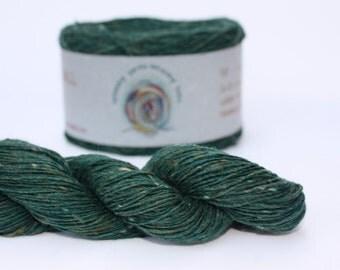 Spinning Yarns Weaving Tales - Tirchonaill 545 Green 100% Merino for Knitting, Crochet, Warp & Weft