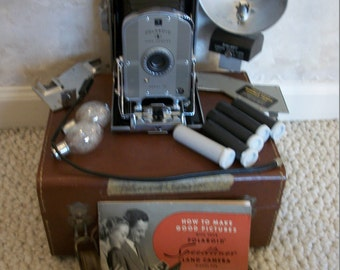 VINTAGE POLAROID  Land Camera Model 95B (#0732)