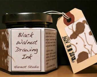 Artisan Black Walnut Drawing Ink, Medium 4 oz.