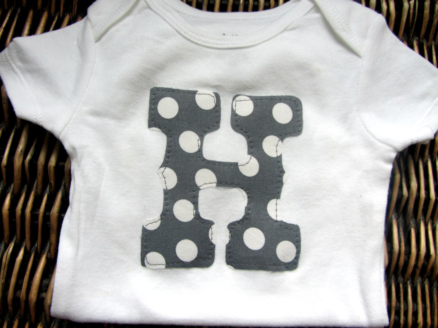 baby boy clothes custom personalized monogrammed initial