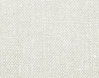 "1 Yard, 60"", 11oz White Burlap"