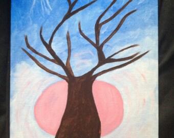 Haunted Tree painting