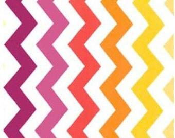 Sun Chic Chevron Fabric by Michael Miller PC 5709 Sun - 1/2 yard