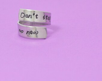 Don't Stop Me Now Wrap Ring - Queen