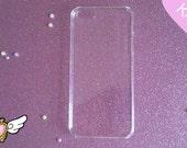 1pc Clear Hard iPhone 5 Case