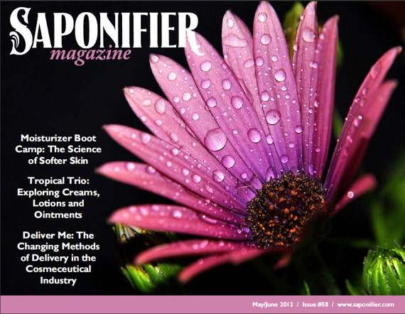 Saponifier: May/June 2013