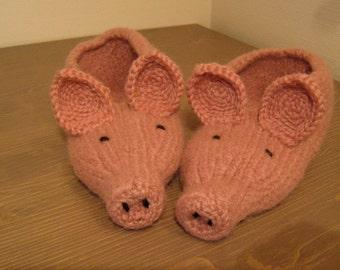 Pig slippers socks shoes gift