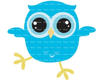 baby owl clipart - baby owl -  Owl Digital Clip Art - baby owl clipart - owl graphics - Personal and Commercial Use