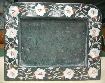 Marble Inlay Photo Frames / Mother Of Pearl Inlaid Picture Frame Collage