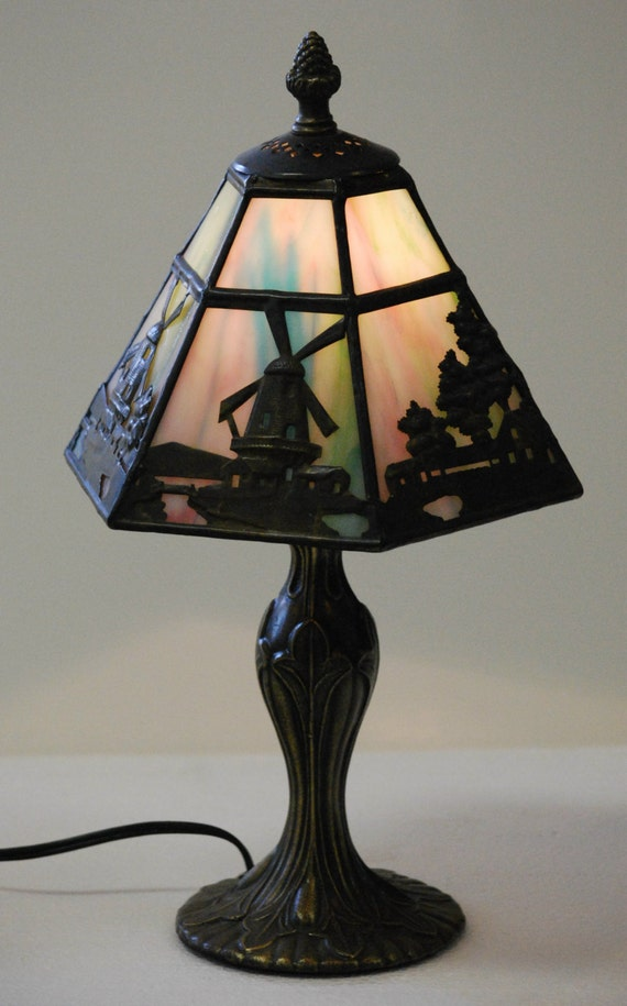 Vintage table lamps etsy