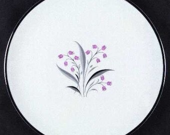 Princess China Flair Porcelain Salad Plate - 8-3/8 inches in diameter