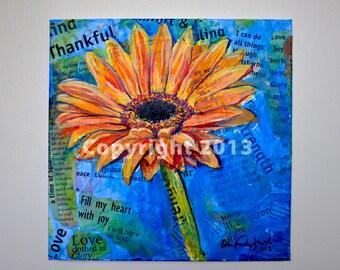 Giclee Print of Gerber Daisy Inspirations